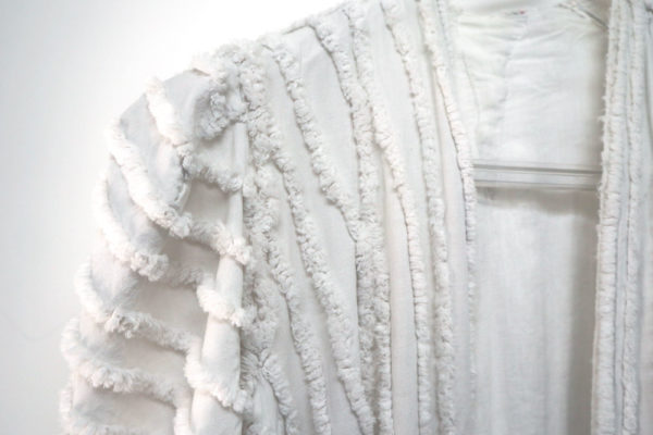 【used remake】 white gown