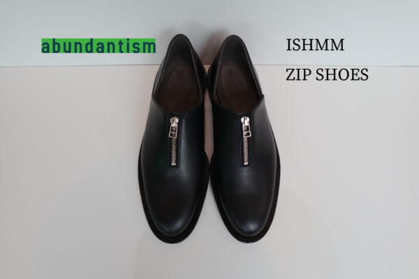 【ISHMM】ZIP SHOES 到着!!