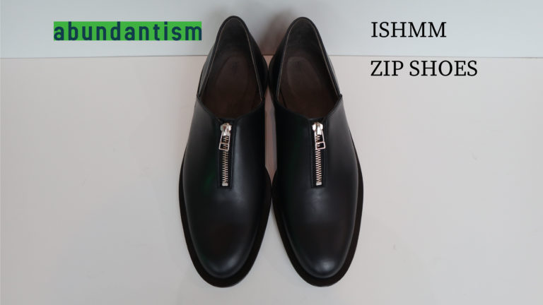 ISHMM ZIP SHOES