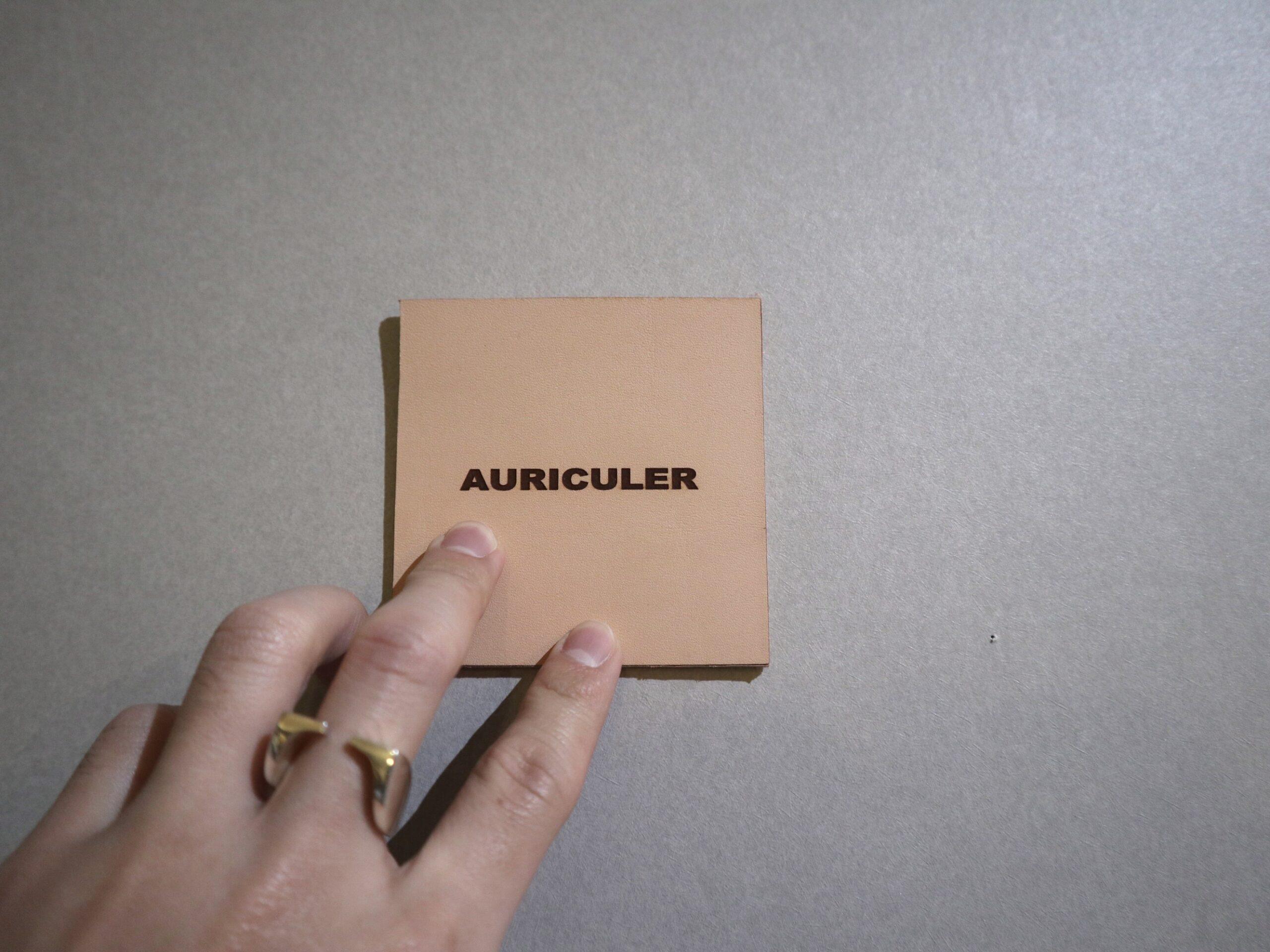 【AURICULER×MIZOGUCHI】コラボレーションリング
